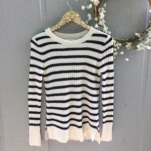 Old Navy striped sweater. Size XS.